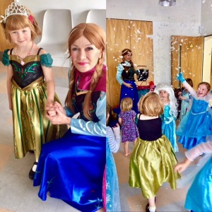 Frozen party entertainer london